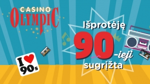 Olympic Casino Akropolis 12 -asis gimtadienis