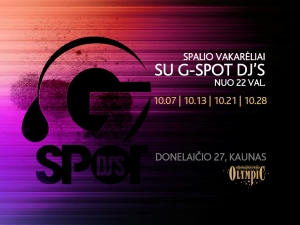 Kaunas atsigauna: G-Spot DJ's groja Olympic Casino