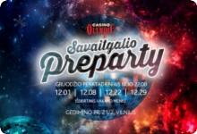 Olympic Casino Gedimino Preparty!