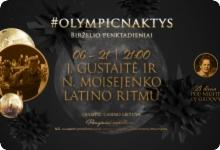 J. Gustaitė ir N. Moisejenko latino ritmu