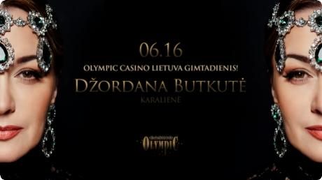 Džordana Butkutė   Olympic Casino Lietuva Gimtadienis!
