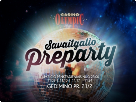 Olympic Casino Gedimino Preparty!