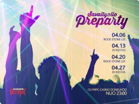 Kaunas atsigauna: Olympic Casino Donelaičio Preparty!