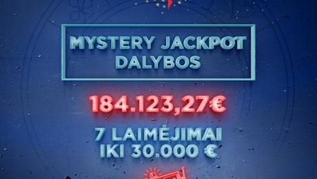 Mystery Jackpot dalybos