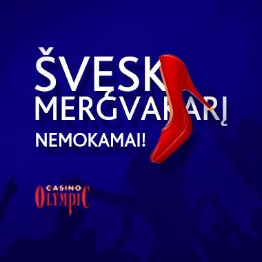 Švęsk mergvakarį NEMOKAMAI!