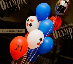 21 + / Vakarėlis pirmai kazino patirčiai